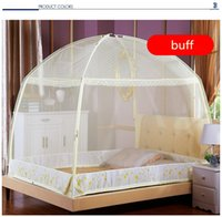 Wholesale Rio Olympic Same Type Three door Easy Install Foldable Portable Mongolian Yurt Mosquito Net Insecticide Treated Zika Bed Tent