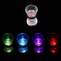 Wholesale LED Light Coasters Party Club Bar Wine Glasses Bottle Cup Luminous Matte Drink Coaster LED Multi Color Changing Light Cup Coasters