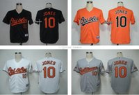 baltimore mix - Youth Kids Baltimore Orioles Adam Jones Black White Grey Orange Youth jerseys Top Quality Baseball Jerseys Drop Shipping Can Mixed order