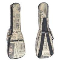 Wholesale 23 quot Concert Ukulele Guitar Bag Acoustic Guitar Bag D Nylon Oxford Guitar Soft Thick Cotton Gig Bag Waterproof Guitar Case