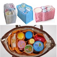 baby changing liners - 100pcs Baby Diaper Nappy Changing Storage Bags Inner Containers Maternity bag Multi Liners Lining Divider S M L ZA0266