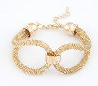 america twist - 3 colors cheap hot America european Fashion bracelet jewelry quality simple twist metal braided charm bracelet
