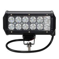 Wholesale 1pcs W OFF ROAD LED LIGHT bar X4 Cree LED Work light V V Spot FOR TRUCK BOAT SUV car ATV WD Spot