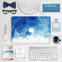 Wholesale Blue smear Laptop Skin Decals for Macbook macbook sticker macbook decals
