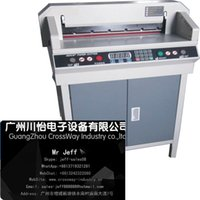 automatic paper cutters - automatic paper cutter with Cnc Control cutting films carton