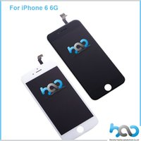 Wholesale 2016 High Quality Lcd Display Touch Screen Full Assembly For Apple iPhone G inch White Black