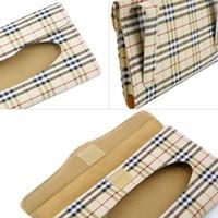 auto visor accessories - car sun visor tissue box holder Auto accessories holder Paper napkin clip PU leather Case Brand New
