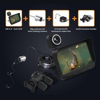 Wholesale Double lens Visual Fish Finder Inch Color LCD M depth of the water X2B