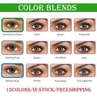contact lenses crazy - 10 Free Gifts tone fresh colorblends contact lenses crazy lens colors large stock DHL shipping Fast Deliver