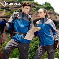 Wholesale milvian male and famale waterproof windproof Quick dry Anti_UV Dust_Proof reversible jacket breathable outdoor jacket mountain Wear