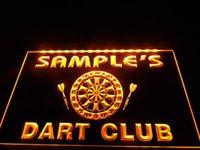 bar club names - DZ030 Name Personalized Custom Dart Club Bar Beer Neon Sign hang sign home decor crafts
