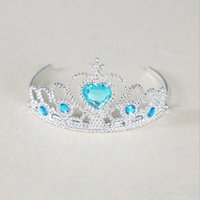 Wholesale Wedding Flower Girls Beaded Stone Stainless Head Jewelry Tiaras Many Colors Pieces