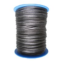 Wholesale mm x meters strand synthetic UHMWPE winch rope sailplane rope pulling rope