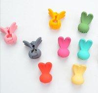 Wholesale Kids Mini Colorful Rabbit Hair Claws Baby Children Cartoon Barrettes Korea Fashion Kids Hair Accessories Supply Kids Barrettes