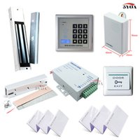 access frames - RFID Access Control System Kit Frame Glass Door Set Eletric Magnetic Lock ID Card Keytab Power Supplier Exit Button DoorBell