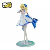 alter fate - 2016 High Quality cm ALTER Fate stay night Saber Lily white dress PVC Action Figure Toy
