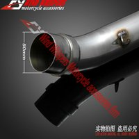 Wholesale Motorcycle exhaust pipe For KAWASAKI Z750 only middle of the exhaust pipe