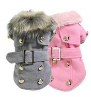 Wholesale New Fashion Dog Winter Warm Coat Luxury Jacket Puppy Clothes Pet Clothing Cat Apparel dog winter coat hight quality free shippi