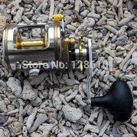 Wholesale Fishing Baitcasting Reel Bait Caster CT320 BB Ball Bearing For Salt Water Standard Fishing Aluminum Spool High Speed
