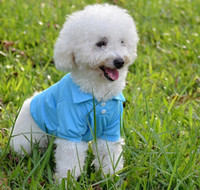 apparel items - Hot item beautiful dog apparel Pet clothes dog cat T shirt summer clothing pet polo cotton t shirts