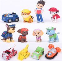 Wholesale Dog Patrol Toys Ryder Dogs Action Figures Patrulla Canina Toy Puppy Patrolling For Children Boy Little Gift Patrulla De La Pata