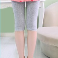 capri pants for girls - 5pcs dozen autumn winter shiny capri jersey baby girl legging kid leggins girl pants skinny fashion trousers for child