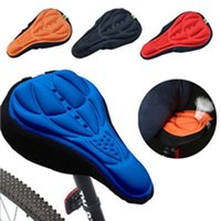 Wholesale 3D Pad Gel Silicone Cycling Bicycle Bike Saddle Cushion Soft Pad Seat Cover Gel Silicone Thicker