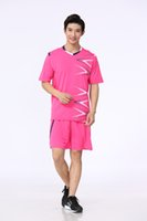 Wholesale ZD1603 blank uniforms soccer sets football shirts different colors more than free DHL shipping
