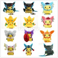 baby doll cosplay - Hot cm Pikachu Cosplay Charizard Magikarp Slowpoke Pokémon Pocket Monsters Plush Doll Stuffed Animals Toy For Baby Gifts