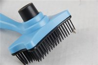 Wholesale 13 cm multicolor Large pet brush grooming tool For dog and cat