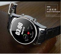 battery moniter - NEW Drop shipping Anti lost Smart watch Remote Camara Sleep moniter Support Android Smartwatch circular screen leather watch DZ09 LW03