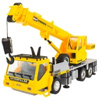 Wholesale HOT RC Crane Truck CH Hook Remote Control EngineerCar Charging Lifting Boy Toy