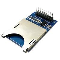 Wholesale 1Pc SD Card Module Slot Socket Reader For Arduino ARM MCU Read And Write B00215 SPDH