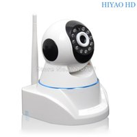 Wholesale NEW P2P Wireless IP Camera App control P MP HD PTZ WIFI CCTV Camera IR Night Vision Security Camera with free gift