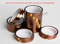 aluminium foil industry - High quality mm m ft Adhesive Tape High Temperature Heat Resistant Polyimide for Electronic Industry