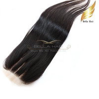 Brazilian Hair arrival hair products - New Arrival Top Closures way part lace closure Queen hair products brazilian human hair x4 hair weaves silky straight Bellahair