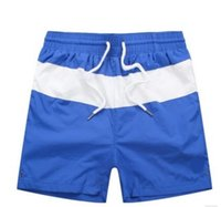 Wholesale 2016 Men Swimming Shorts Breathable Leisure Beach Shorts For Men Quick drying Elastic Waist Vintage Board Shorts