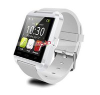 al por mayor envío niños libres relojes de pulsera-Estados Unidos Relojes de pulsera inteligentes del reloj del reloj de Bluetooth Smartwatch U8 del envío para el iPhone 6 6s Samsung S4 S5 Nota 2 Nota 3 88019601