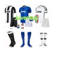 Wholesale A Quality Juventus Jerseys kit patch sock HOME away HIGUAIN Marchisio DYBALA BONUCCI jerseys kit