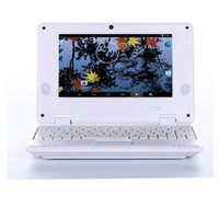 Wholesale 7 inch Android Netbook Laptop Notebook Pad Tab with G G G VIA8880 WIFI HDMI Dual Core different colour