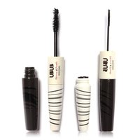Wholesale 1pcs TWO Head brand beauty Mascara Professional Make up double extension eyelash D Long lasting thick mascara Waterproof