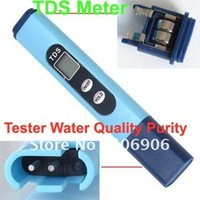 Wholesale tds meter water Blue Portable Pen Type Digital Display TDS Meter Tester Filter Water Quality Purity