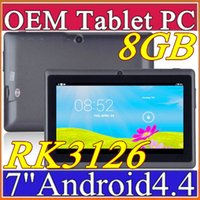 Android 4.4 epad - DHL inch GB MB Capacitive RK3126 Quad Core Android dual camera Tablet PC WiFi EPAD Youtube Facebook H PB