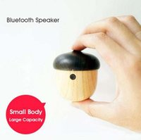 Wholesale Rechargeable Mini Nut Bluetooth Speaker with small cute shapeWireless Mini Bass Speaker Portable Outdoor Music Player USB Plug Bluetooth
