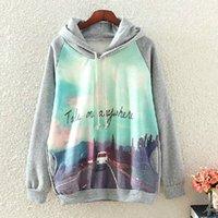 Wholesale Fashion Autumn Warm Cotton Letter Print Sweatshirt Take Me Anywhere Hoodie Sweatshirt