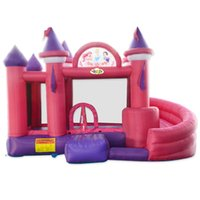 Wholesale Kids Moonwalks Inflatable Bouncing Castle with Polyester for Residentail