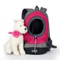 Wholesale pet carrier bag for small dogs and cats Dog Carriers pet portable bag dog travel bag cat travel carrier carry bag