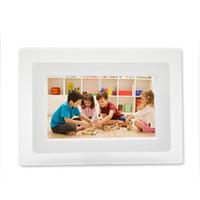 achat en gros de cadre photo numérique calendrier-7 pouces à écran LCD HD photo numérique de bureau Cadre Calendrier Cadre photo numérique d'affichage avec calendrier soutien Drives Tf Sd flash