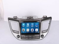 Wholesale Car DVD Radio Audio Multimedia Player GPS For HYUNDAI TUCSON iX35 Right Hand Drive Up Retail Pc