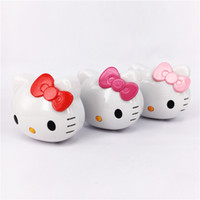 Wholesale Hello Kitty Power Bank mAh Portable Power bank Battery Hello Kitty D Cartoon Design Charge For all Mobile Phone